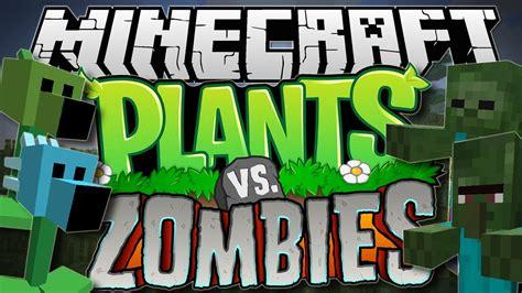 zombies minecraft plants vs mod pea shooters showcase plantas