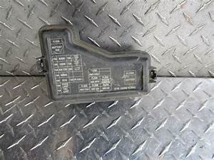 Fuse Box Diagram For 2004 Nissan Sentra