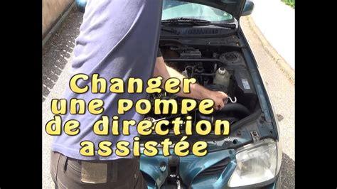 changer et purger une pompe de direction assist 233 e - Pompe De Direction Assistée