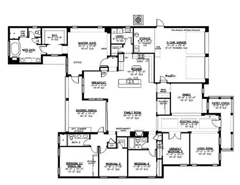 5 Bedroom House Plans Nsw by Luxury 5 Bedroom 3 Bath House Plans New Home Plans Design