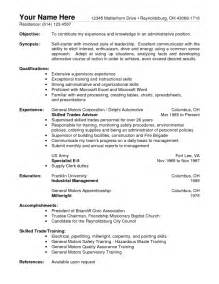 warehouse resume objective exles warehouse worker resume skills template info for image