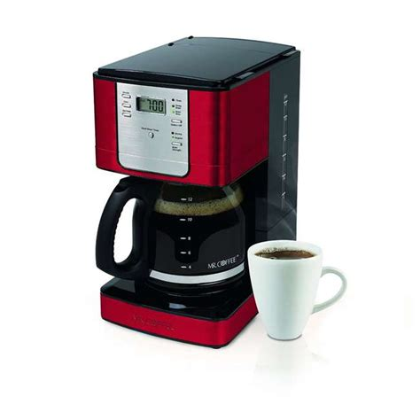 A short power supply cord is provided to related manuals for mr. Mr. Coffee 12-Cup Programmable Coffee Maker, Red : JWX36RR