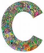 Colored In Letter C C For Chiara Pinterest Letter C Flickr Photo Sharing ALPHABATTLE C LetterCult Letter C Worksheet Colouring Pages