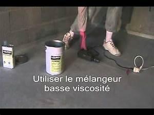 Resine Sol Garage : sol en resine garage 4 application primaire liquiroc youtube ~ Dode.kayakingforconservation.com Idées de Décoration