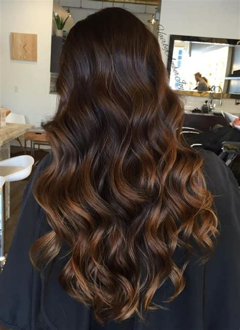 Best Dark Brown Hair With Caramel Highlights Ideas And Images On