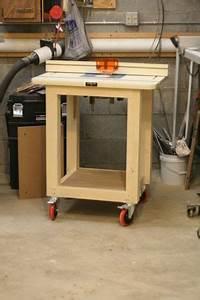 Easy Shop Table - by Lockwatcher @ LumberJocks com