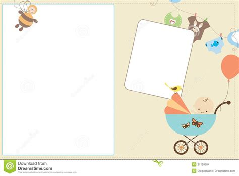 baby card stock images image