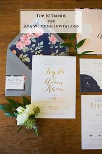 10 hottest wedding invitation trends for 2016 With average cost wedding invitations 2016