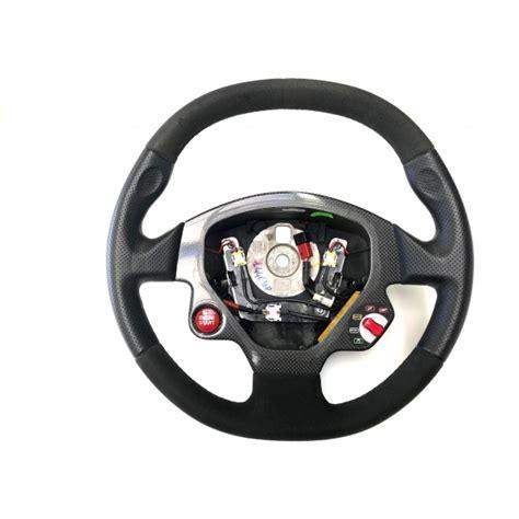 F430 Steering Wheel by F430 Scuderia Steering Wheel Black Alcantara