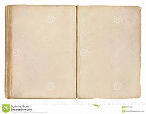 Old Book Blank Pages Stock Photos - Image: 11777163