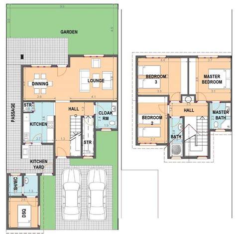 fresh  bedroom maisonette house plans kenya