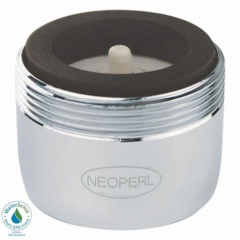neoperl 1 5 gpm dual thread auto clean water saving faucet