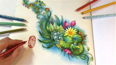 magic pond magical jungle coloring book  johanna