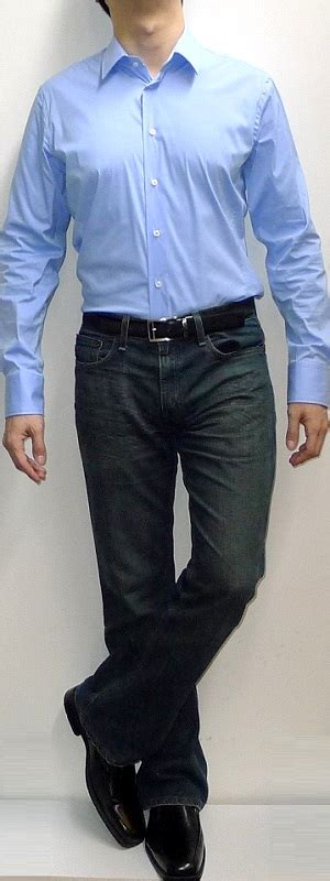 light blue dress shoes mens what color shirt with blue jeans and black shoes style