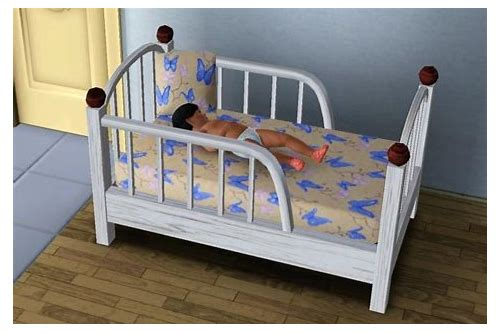 sims 3 baby bed download