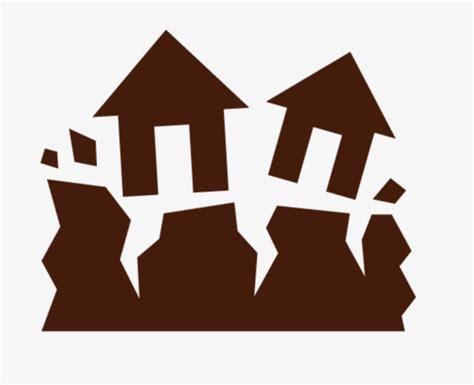 แผ่นดินไหวในบ้าน แผ่นดินถล่ม การแตก การเลือกตั้ง Png และ เวกเตอร์ สำหรับการดาวน์โหลดฟรี