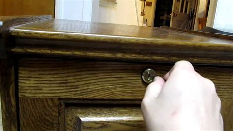 how to pick a file cabinet lock picking a file cabinet lock with nail clippers youtube