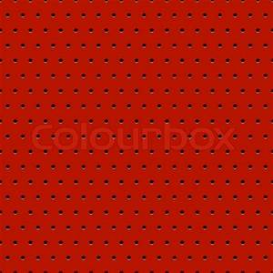 Abstract dotted red metal background, texture, grill ...