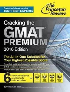Computer Test 2016 : cracking the gmat premium edition with 6 computer adaptive practice tests 2016 by princeton ~ Eleganceandgraceweddings.com Haus und Dekorationen
