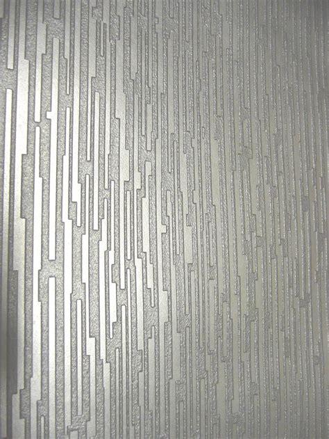 silver textured wallpaper home ideas