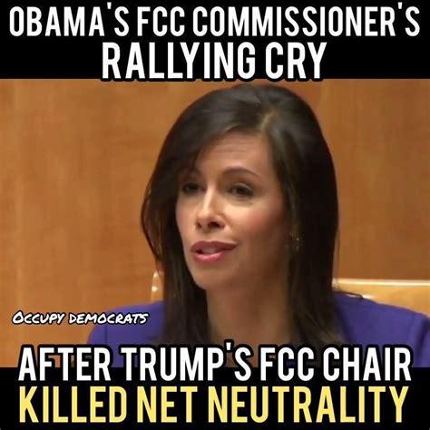 foto de Occupy Democrats Obama's FCC Commissioner's RALLYING CRY