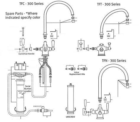 Franke Faucet Repair by Franke Tft 300 Tfc 300 Tfn 300 Series Part Catalog