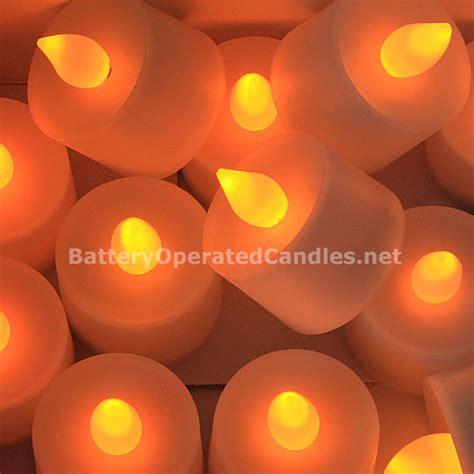 amber led tea lights tall flameless tea lights amber led battery operated set