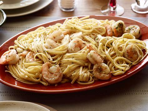 tyler florences shrimp scampi  linguini keeprecipes