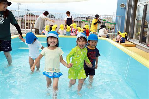 プール 開き 保育園