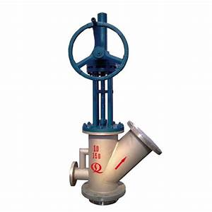 Special Tank Bottom Angle Valve For Coal Slurry Id
