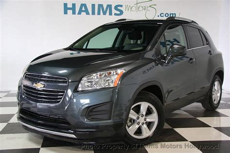 Chevrolet Trax 2016 by 2016 Used Chevrolet Trax Fwd 4dr Lt At Haims Motors Ft