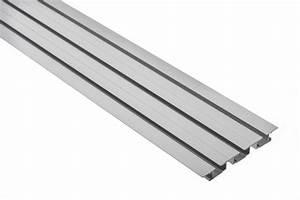 Gardinenschiene Alu 1 Läufig : vorhangschiene aluminium tara 3 l ufig m10122 ~ Markanthonyermac.com Haus und Dekorationen