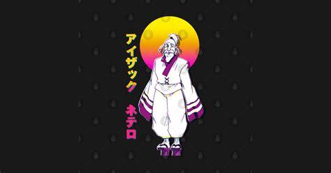 isaac netero x anime retrowave