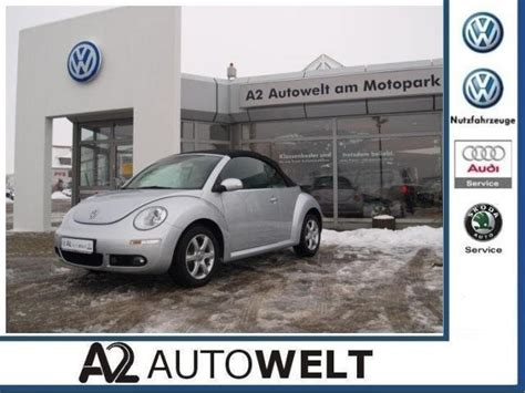 Beetle Cabrio Ohne Garage by Vw New Beetle Cabrio 1 6 Automatik Freestyle Chf 22 713