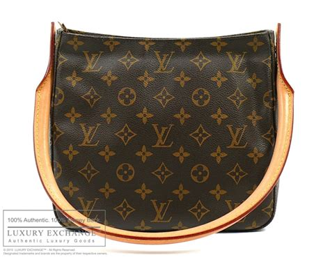 authentic louis vuitton monogram looping mm bag