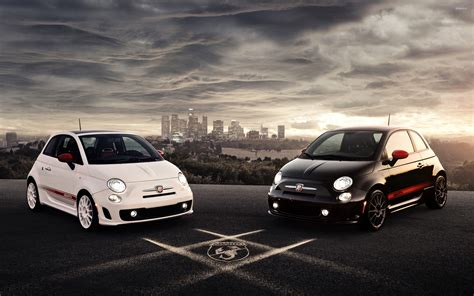 Abarth Fiat 500 Wallpaper