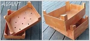 Cagette Bois Deco : cagettes relook es les cr ations de nathalie ~ Teatrodelosmanantiales.com Idées de Décoration