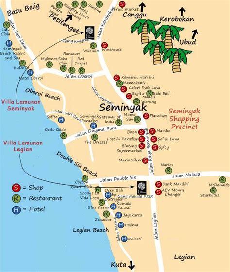 seminyak map google search   road