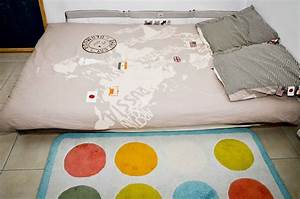 Lit Enfant Sol : sommeil de l 39 enfant selon la m thode montessori ~ Nature-et-papiers.com Idées de Décoration