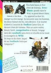 Croc Blanc Resume by Croc Blanc Acheter Occasion 02 02 1999