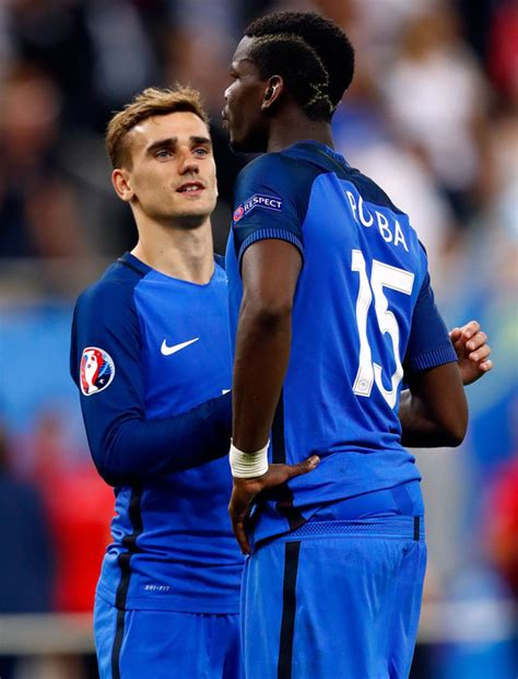 Join facebook to connect with griezmann pogba and others you may know. Antoine Griezmann: Man United want Paul Pogba to help them ...