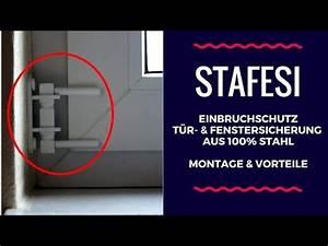 Einbruchschutz Tür Nachrüsten : nachr sten einbauen der stafesi t r fenstersicherung ~ Lizthompson.info Haus und Dekorationen