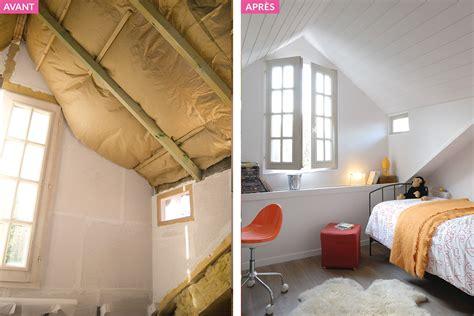 chambre sous les toits aménagement combles chambre sous les toits maison créative