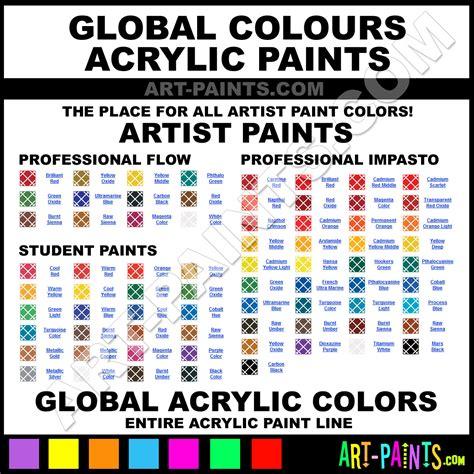 global color warm blue student acrylic paints swb75 warm blue paint