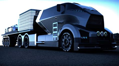 truck car black black hawk future truck concept futuristic trucks