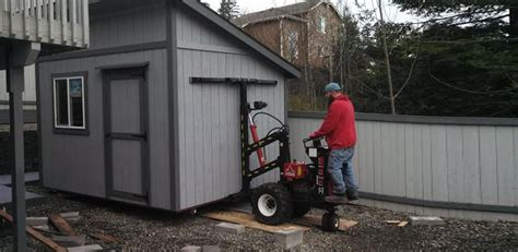 Mule Shed Mover Dealers by Northwest Shed Movers Cabin Shed Gazebo And Barn Moving