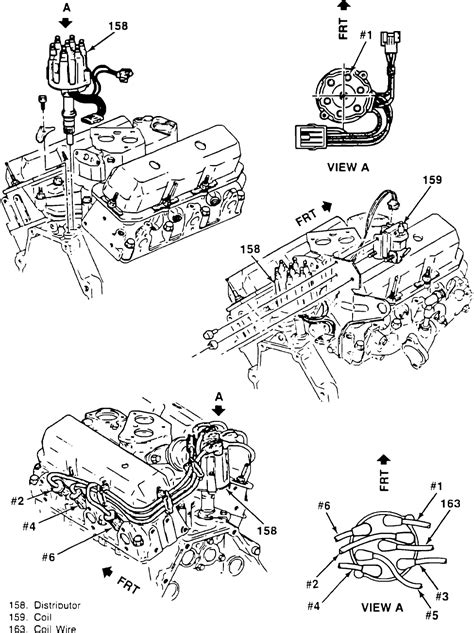 1987 S10 2 8 Engine Wiring Diagram by I Need A Diagram Of The Firing Order Of A 88 Chevy S10