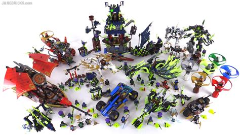 lego ninjago summer  collection  sets