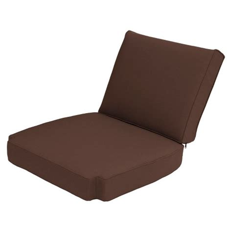 smith hawken 174 island 2 outdoor replacement club chair cushion set ebay