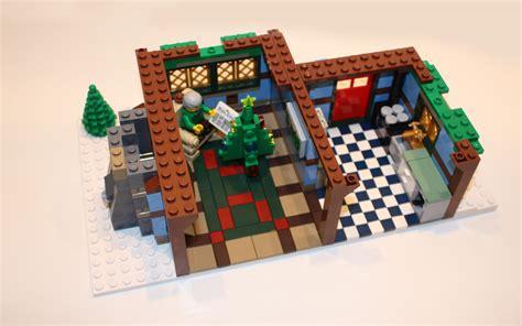 lego huis klein lego 10229 winter cottage review bouwsteentjes info